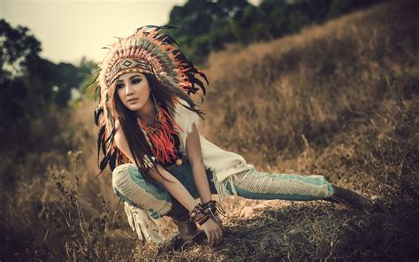 indian girl hd wallpaper 1920x1080 native american headdress wallpaper 1398120