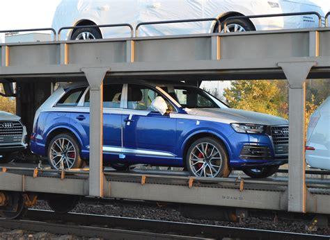 Audi Auslieferung by Diverse Pkw Suv Modelle Audi Bei Der Auslieferung