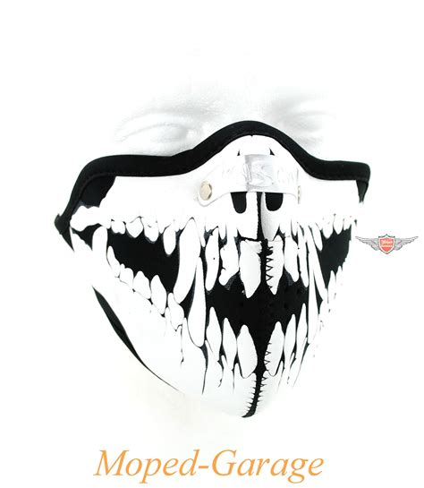 Motorrad Teile Wolf by Moped Garage Net Biker Maske Wolf Skull Motorrad Maske
