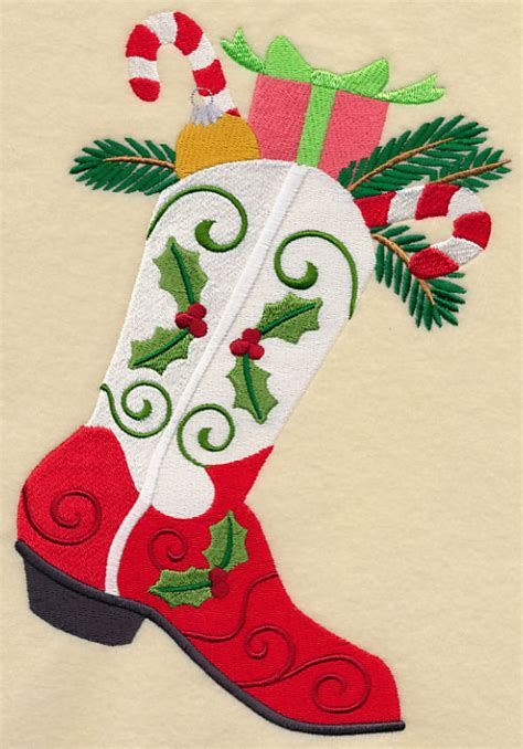 studio 56 collectibles cowboy boot ornament machine embroidery designs at embroidery library embroidery library