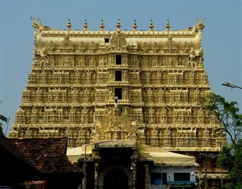 top 20 most beautiful temples in india the trillion dollar treasure of padmanabhaswamy temple