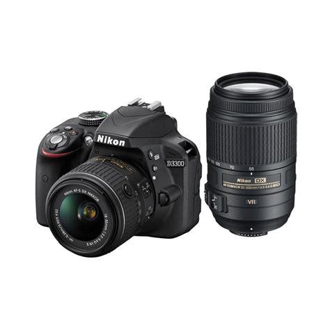 Nikon D3300 Vr Ii Nikon D3300 Black W 18 55 Vr Ii 55 300vr 33879