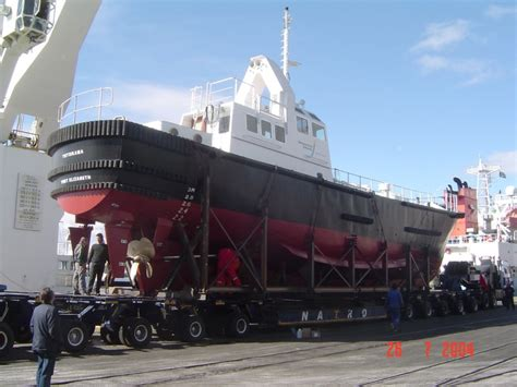 tow boat design triton naval architects cape town south africa