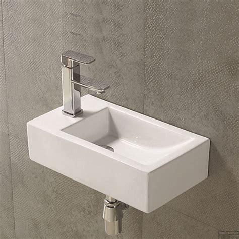 Toilet Fontein Links by Fontein Sanilux Qubic Rechthoek Links Tegeldepot Nl