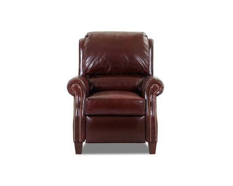 american leather recliner chairs american made reclining leather chair martin cl701