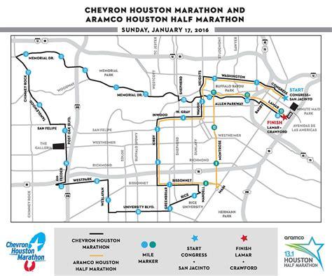 houston marathon elevation map course info chevron houston marathon