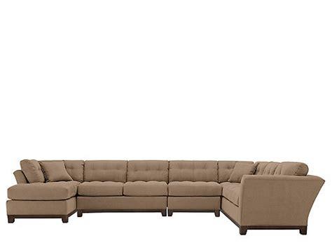 cindy crawford metropolis microfiber sofa cindy crawford home metropolis 4 pc microfiber sectional