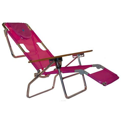 pink chaise lounge chairs ostrich 3 in 1 patio chaise lounge chair pink