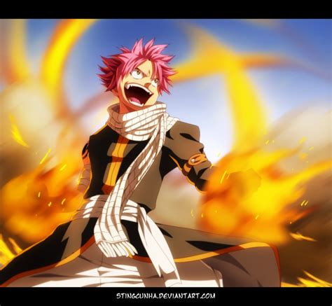 fairy tail 430 natsu on fire by stingcunha on deviantart