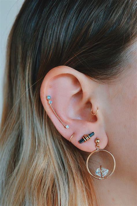 blackpink earrings 25 best ideas about upper ear piercing on pinterest