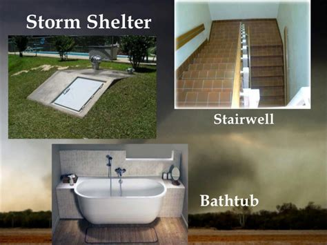 bathtub tornado shelter tornadoes