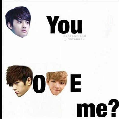 I Love L Meme - bts exo myungsoo kpop memes infinite image 4150336