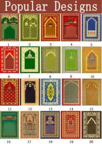 100 Cotton Rugs Black Cotton Muslim Islamic Prayer Mat Template With Bag