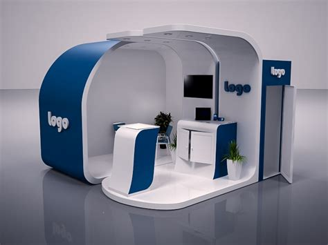 3d booth design template exhibition booth design max