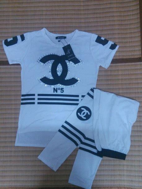 Coco Channel Rainbow Tshirt t shirt chanel set coco chanel suit chanel sport suit wheretoget