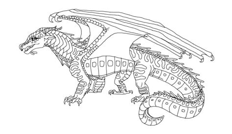 seawing dragon coloring page wings of fire mudwing coloring pages coloring pages