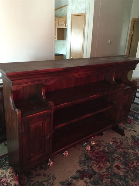 I A Link Rawhide Dresser Nightstand And Rolltop Desk And My Antique Link Hutch My Antique Furniture Collection