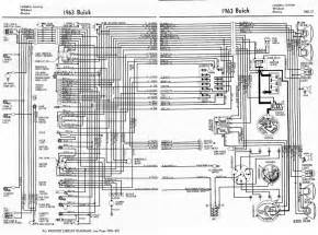 buick lesabre invicta wildcat and electra 1963 complete electrical wiring diagram all about