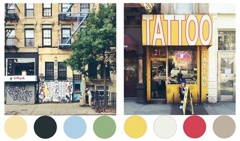 colors nyc color me nyc turns streetscapes into color palettes