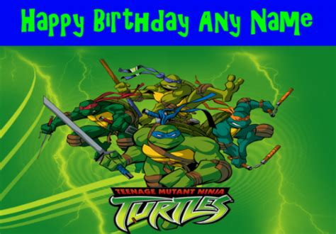 printable birthday cards ninja turtles 8 best images of ninja birthday card printable ninja