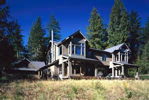 Contemporary Craftsman House House In The Woods Baylis Architects 425 454 0566
