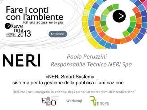 neri illuminazione pubblica neri smart system sistema per la gestione della pubblica