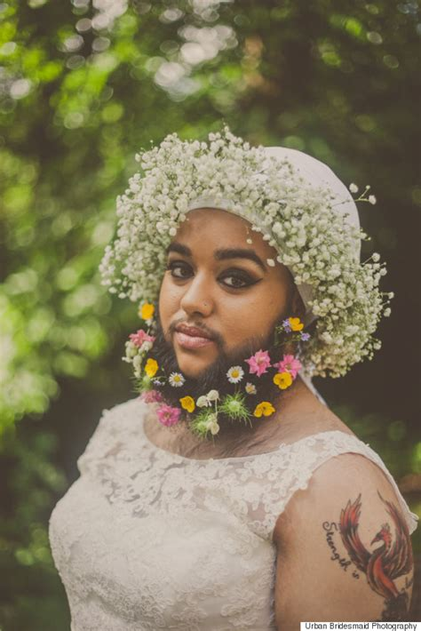bridal shoot pictures bearded harnaam kaur reveals why she posed for