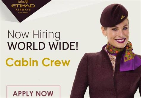 cabin crew recruitment fly gosh etihad cabin crew recruitment open to all