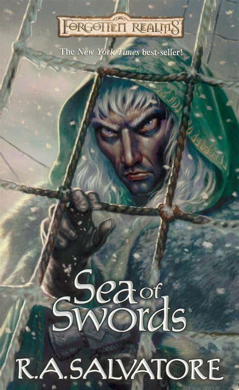 sea of swords novel todd lockwood forgotten realms artist