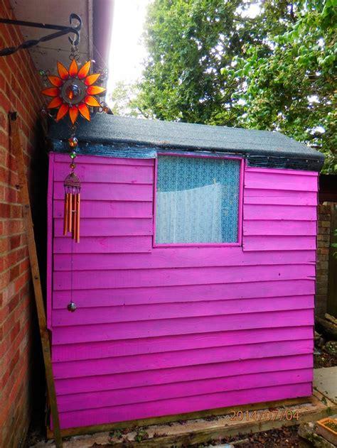 cuprinol sweet sundae pink shed toutes choses roses