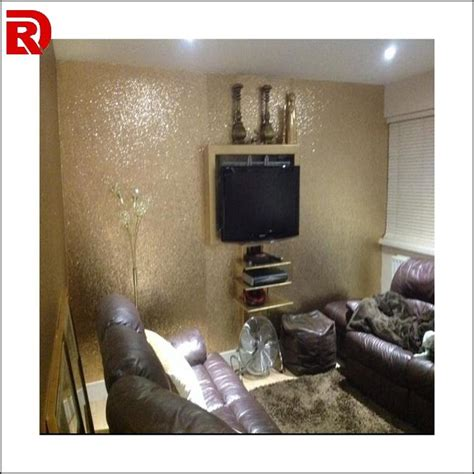 glitter wallpaper room 20 meters gold glitter fabric wallpaper modern glitter