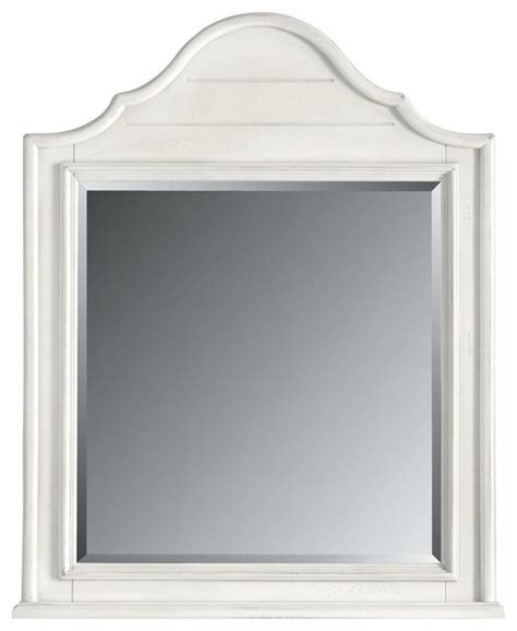 coastal bathroom mirrors coastal living retreat arch top mirror saltbox white