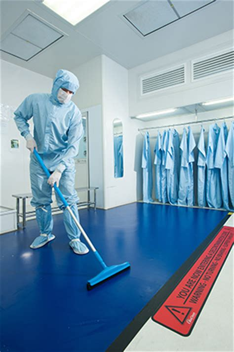Dycem Mats Clean Room by Dycem