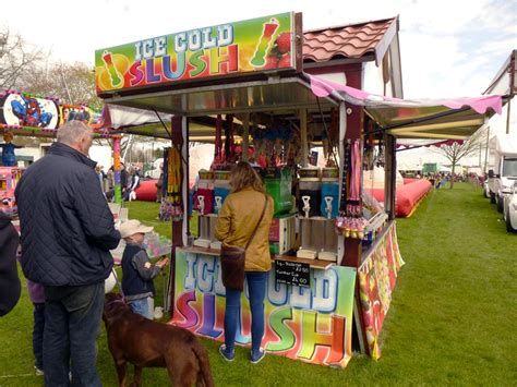 new year food stalls cold slush drinks stall hire funfair fairground