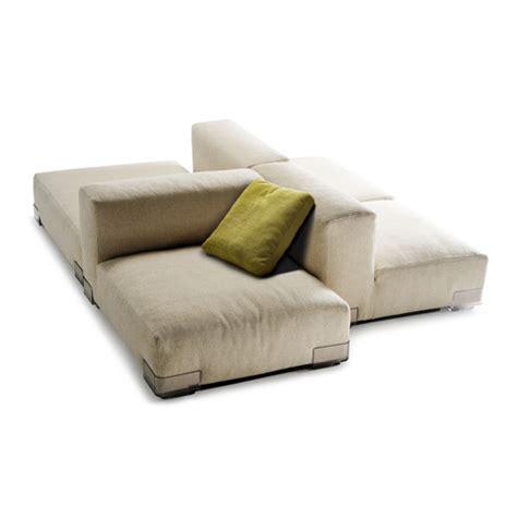 Sofa With Chaise Ottoman Kartell Plastics Duo Modular Seating