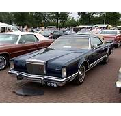 1976 Lincoln Continental Mark V Dutch Licence