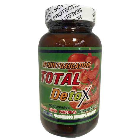Desintoxicador Total Detox by Nutricion Total Detox Desintoxicador Total