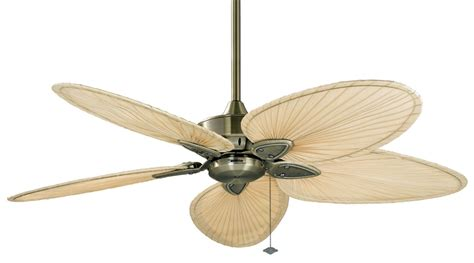 lighting direct ceiling fans fanimation fp7500ab antique brass 52 quot 5 blade fansync