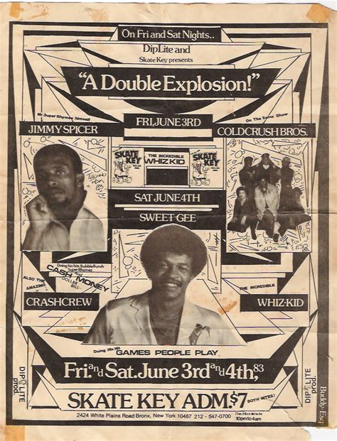 Vintage Hip Hop Flyers