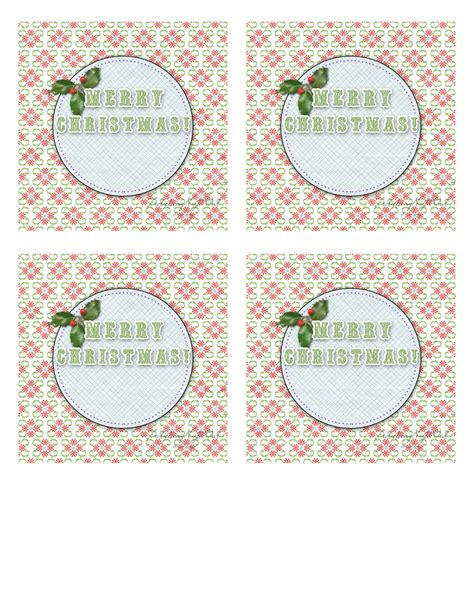 frolicking night owl merry christmas printable gift tags