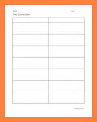 13 blank comparison chart template bussines proposal 2017