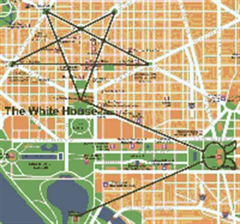 washington dc map masonic freemasonry and washington d c s layout