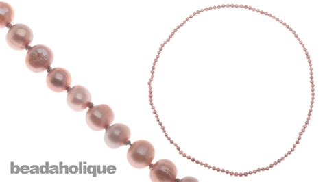 how to make pearl jewelry how to make a knotted pearl necklace without a clasp