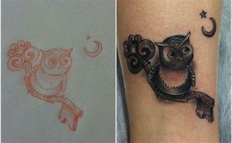 tattoo owl key owl key small tattoos egodesigns tattoos pinterest