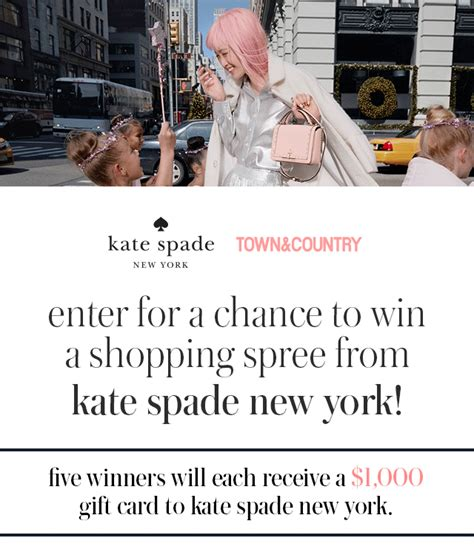 Town Country Sweepstakes - town country kate spade sweepstakes