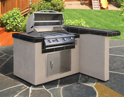 kitchen island grill cal flame lbk 401 outdoor kitchen kit