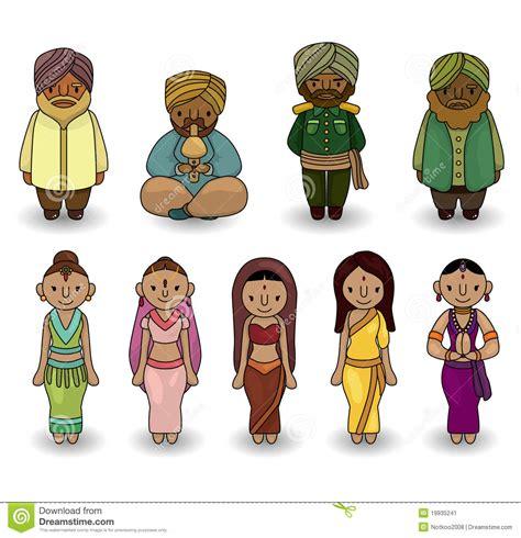 desenho indianos vetor do jogo indiano do 237 cone dos desenhos animados