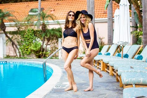 Wardrobe Design by Beach Bound With These Black Bathing Suits Life Of