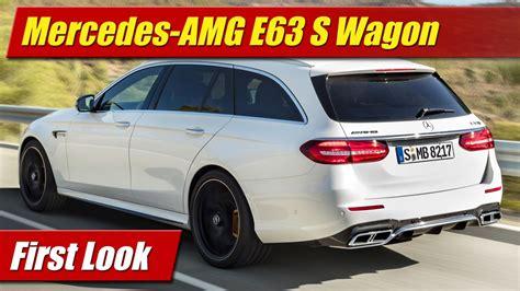 2018 e63 amg wagon look 2018 mercedes amg e63 s wagon testdriven tv