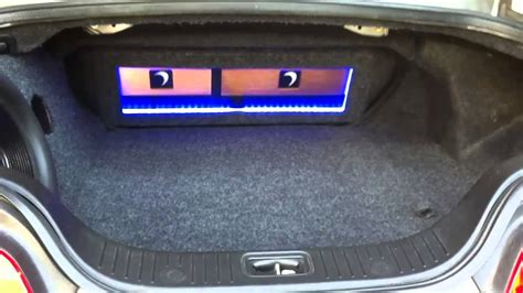 Infinity Auto Sound Systems by Infinity G35 Sound System W Custom Trunk Subwoofer Box